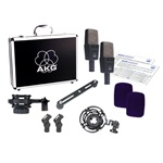 AKG C414 XLS Stereo Set Studio Condenser Microphone (Matched Pair)