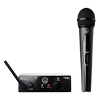 AKG WMS 40 Mini Handheld Wireless Microphone System (US 45 C, 662.300 MHz)