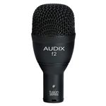 Audix F2 Hyper-Cardioid Instrument Dynamic Microphone