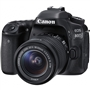 Canon EOS 80D 24.2MP DSLR Camera w/ Canon 18-55mm STM Lens