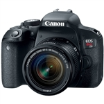 Canon EOS REBEL T7i with EF-S 18-55 IS STM Lens Kit