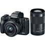 Canon EOS M50 Mirrorless Digital Camera with 15-45mm and 55-200mm Lenses (Black) 4K Video