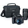 Canon EOS Rebel T7 24.1 MP w/ EF-S 18-55mm and EF 75-300mm Lenses