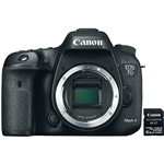 Canon EOS 7D Mark II Digital SLR Camera Body Wi-Fi Adapter Kit