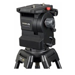 Daiwa Slik Daiwa-70 Heavy-Duty Broadcast Fluid Tripod Head