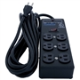 Furman SS-6B Steel Power Strip w/ 6 Outlets, Surge Suppressor