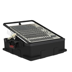 Gator Cases G-MIX-12 PU Pop-Up Rack Case