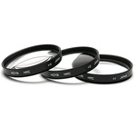 Hoya 62mm Close-Up Lens kit x 3 (Blue Series)