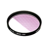 Hoya 62mm Star-Six Effect Glass Filter  (S-62STAR6-GB)