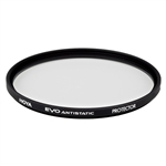 Hoya EVO ANTISTATIC 55mm Protector Super Multi-Coated Slim Frame Water & Stain Resistant Filter (XEVA-55CPL)