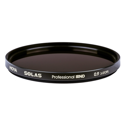 Hoya SOLAS 49mm Professional IRND 0.9 3-STOP Premium ND Filters + IR Reduction