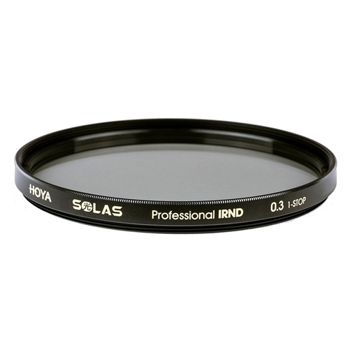 Hoya SOLAS 58mm Professional IRND 0.3 1-STOP Premium ND Filters + IR Reduction
