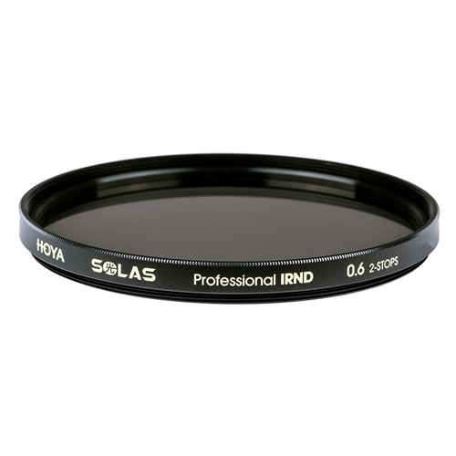 Hoya SOLAS 62mm Professional IRND 0.6 2-STOP Premium ND Filters + IR Reduction