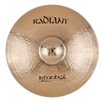 Istanbul Mehmet Cymbals Modern Series R-RSW20 20-Inch Radiant Sweet Ride Cymbal