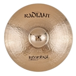 Istanbul Mehmet Cymbals Modern Series R-RSW22 22-Inch Radiant Sweet Ride Cymbal