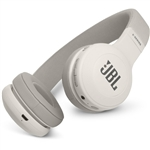 JBL E45BT 40mm Drivers Over-Ear Wireless Headphones (White)