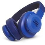 JBL E55BT 50mm Drivers Over-Ear Wireless Headphones (Blue)