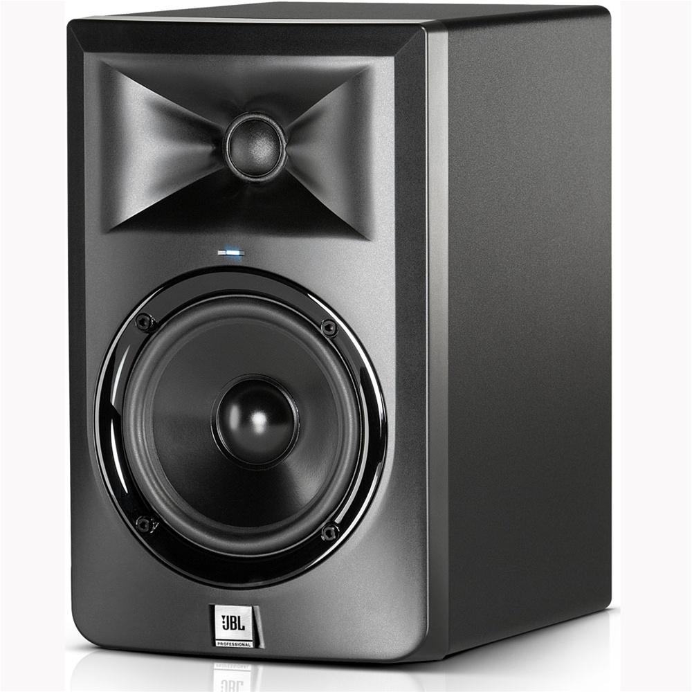 jbl lsr305 5 two way powered studio monitor speaker 1pc. Black Bedroom Furniture Sets. Home Design Ideas