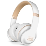 JBL Everest Elite 300 NXT On-Ear Wireless Active Noise-Cancelling Headphones (White)