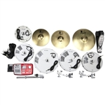 Pearl Drums EPADRBM-25S Complete Electronic Conversion Pack, 10/12/16/14 Configuration w/ Plastic Cymbals