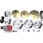 Pearl Drums EPADRBM-25SB Complete Electronic Conversion Pack, 10/12/16/14 Configuration w/ Metal Cymbals