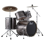 Pearl Drums EXX725/C 5-Piece Export Standard Drum Set with Hardware (Smokey Chrome)