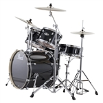 Pearl Drums EXX725/C 5-Piece Export Standard Drum Set with Hardware (Jet Black)