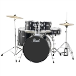 Pearl Drums Roadshow RS525SC/C31 5-Piece Drum Set (Charcoal Metallic)