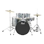 Pearl Drums Roadshow RS525SC/C706 5-Piece Drum Set (Charcoal Metallic)