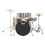 Pearl Drums Roadshow RS525SC/C707 5-Piece Drum Set (Bronze Metallic)
