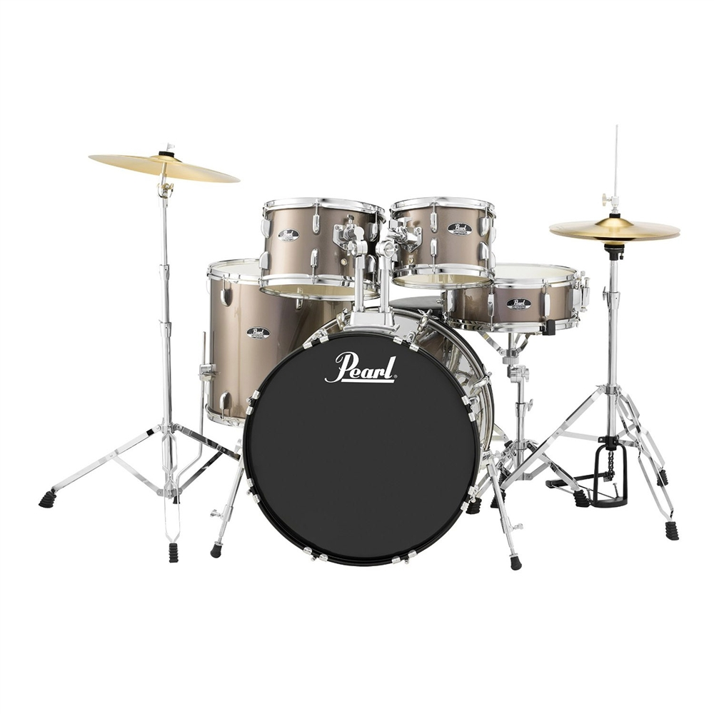 Pearl Drums Roadshow RS525SC/C707 5-Piece Drum Set (Bronze ...