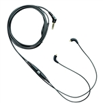 Shure CBL-M-K Music Phone Cable with Remote + Mic