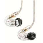 Shure SE215-CL Sound Isolating Earphones (Clear)