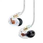 Shure SE425-CL Dual High-Definition MicroDriver Sound Isolating Earphones (Clear)