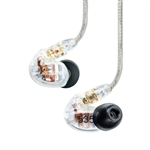 Shure SE535-CL Triple High-Definition MicroDriver Earphone w/ Detachable Cable (Clear)