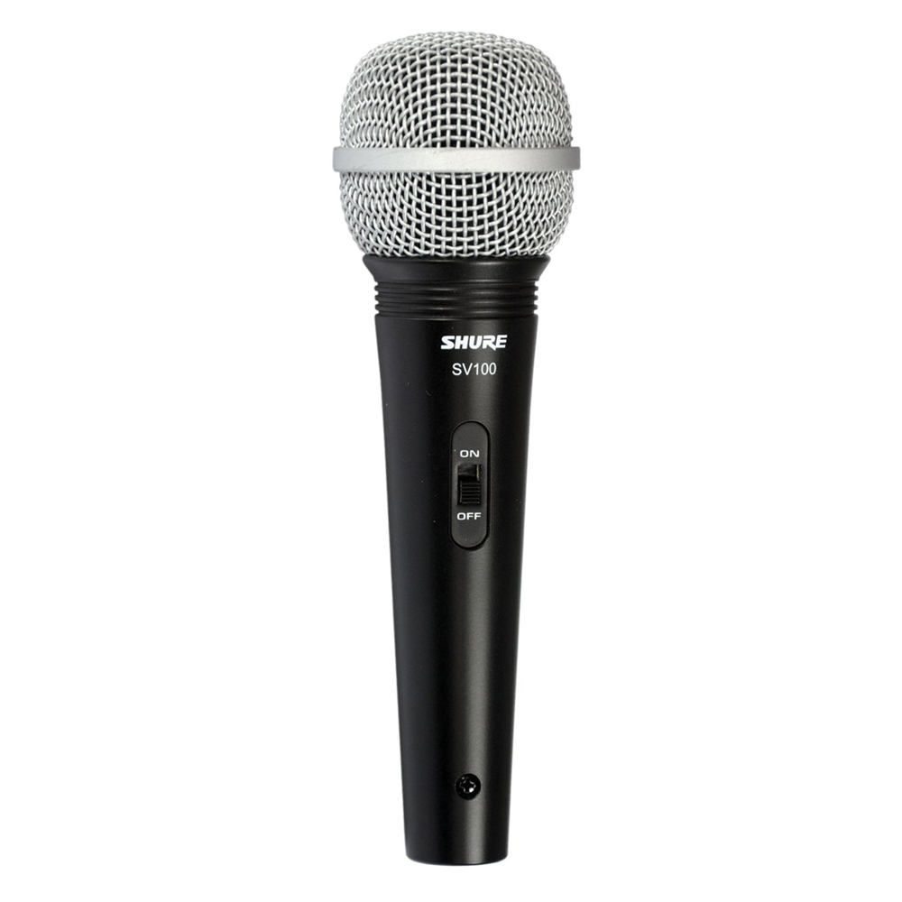 shure sv100 w multi purpose microphone with xlr 1 4 cable. Black Bedroom Furniture Sets. Home Design Ideas