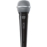 Shure SV100-WA Multi-Purpose Microphone w/ XLR-1/4 Cable, Mic Clip, Thread Adapter and Zippered Pouch