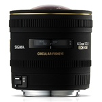 Sigma 4.5mm f/2.8 EX DC HSM Circular Fisheye Lens for Canon