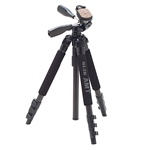 Slik PRO 340 DX Compact Alloy Travel Tripod with 3-Way Pan Head 613-338