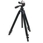 Slik Pro 400DX Tripod Legs w/ 3-Way Pan/Tilt Quick Release Head 615-400