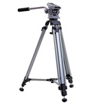 Slik DV Master Pro Professional Broadcast Tripod Up to 12.75 LBS 617-905