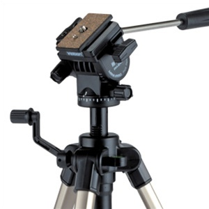 Velbon Cx 480 F 3 Section Aluminum Tripod With 2 Way Fluid