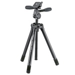 "Velbon Ultra LUXi-L Aluminum Tripod with Quick Release PHD-1Q Panhead, Maximum Height 63"", Supports 5.5 lb"