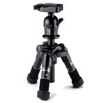 "Velbon Ultra Maxi Mini 18.8"" Twist Lock Tripod, Up-To 3.31LBS"