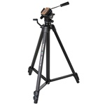 Velbon Videomate 438 Aluminum Tripod with Fluid Pan and Tilt Head