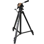 Velbon Videomate 538 Aluminum Tripod with Fluid Pan and Tilt Head