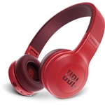 JBL E45BT 40mm Drivers Over-Ear Wireless Headphones (Red)