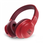 JBL E55BT 50mm Drivers Over-Ear Wireless Headphones (Red)