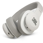 JBL E55BT 50mm Drivers Over-Ear Wireless Headphones (White)