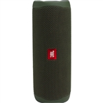 JBL Flip 5 Waterproof Portable Bluetooth Speaker (Forest Green)